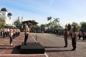Polresta Banda Aceh Lounching Tim Peucrok Covid-19