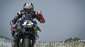 Pole Lagi, Vinales Optimistis Menang di MotoGP Emilia Romagna