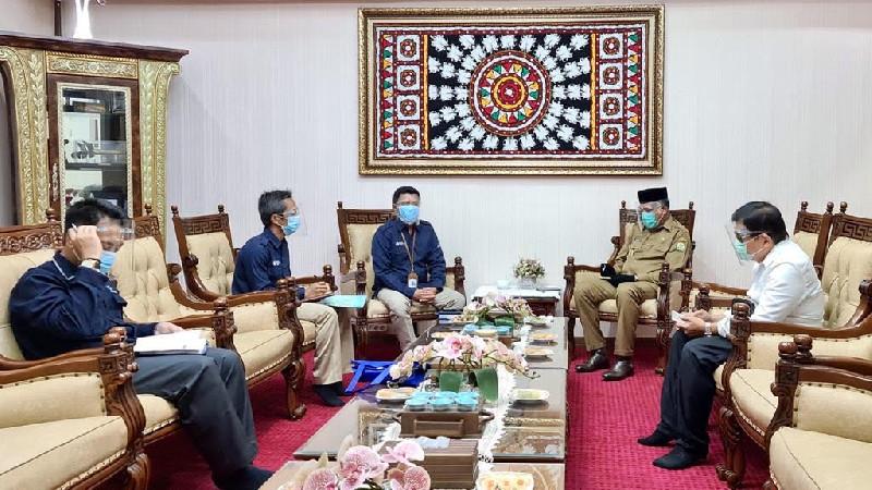 Plt Gubernur Aceh Dukung Pencanangan Zona Integritas BPS