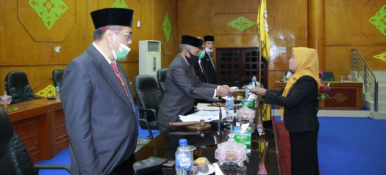 Sidang Paripurna Dewan, Dua Fraksi Soalkan Pembayaran Hutang Pemkab Aceh Tamiang