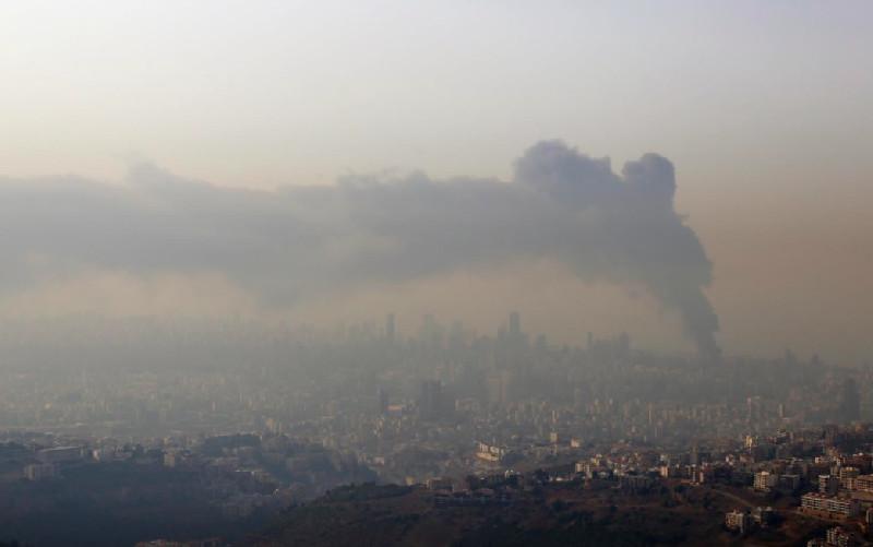 Asap dari Sisa Kebakaran di Pelabuhan Beirut Tidak Berbahaya