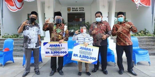 Kota Banda Aceh Juarai Empat Cabang Lomba Literasi Se-Aceh 2020