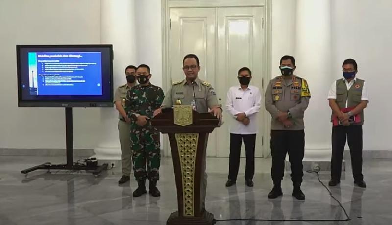 Besok, PSBB DKI Jakarta Diberlakukan Selama Dua Minggu