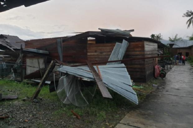 Angin Kencang, 34 Rumah di Aceh Tenggara Rusak
