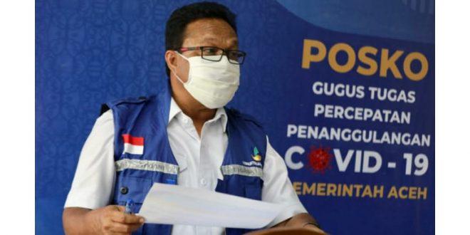 Daerah Zona Merah di Aceh Berkurang, Pasien Covid Sembuh 76 Orang