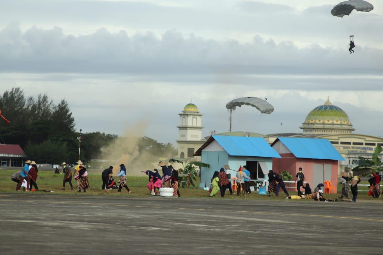 Pagi Ini, Lanud SIM Lakukan Demonstrasi Operasi Udara Gabungan