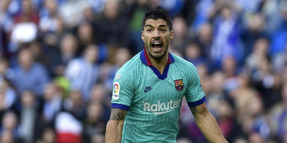 Barcelona Melarang Suarez Pindah ke MU, Madrid, dan PSG
