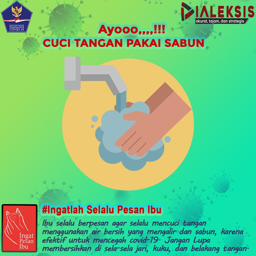 Ayooo,,,,!!! Cuci Tangan Pakai Sabun