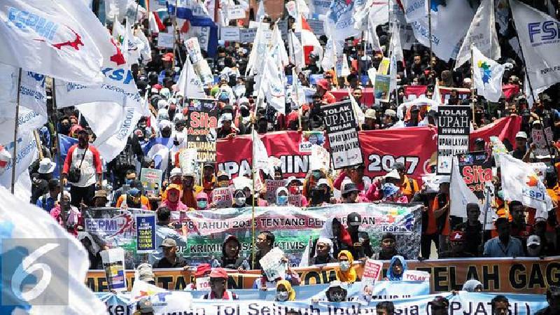 Tolak Omnibus Law, Buruh Bakal Demo Lagi 2 November