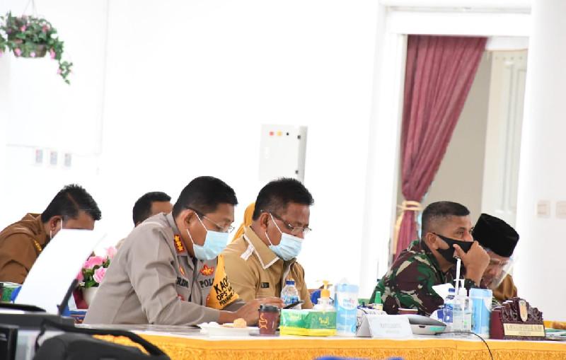 Libur Panjang, Forkopimda Banda Aceh Usulkan Perketat Daerah Perbatasan Cegah Covid-19