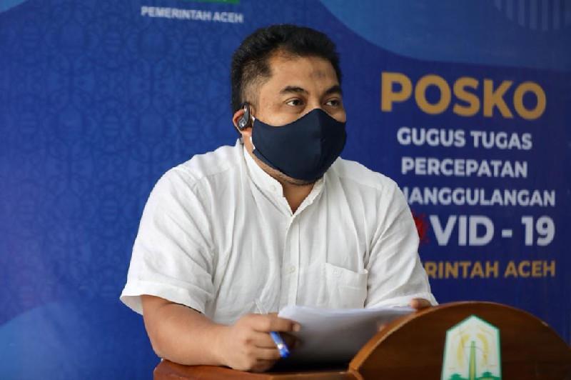Terkait Aplikasi Pemantau Pencegahan Covid-19, Pemerintah Aceh Apresiasi Terobasan Pusat