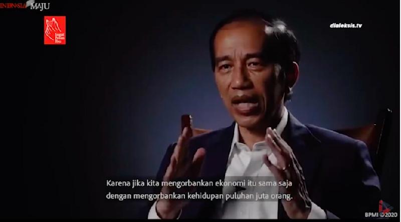 Jokowi Pamer Data, Penanganan COVID-19 Di Indonesia Sudah Baik