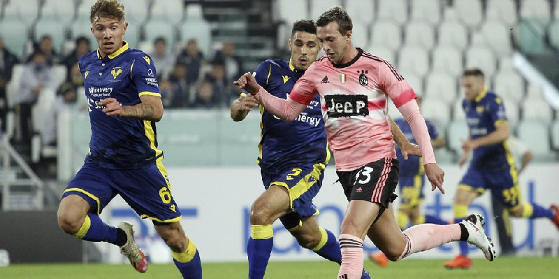Juventus Gagal Petik 3 Poin di Kandang Sendiri, Ditahan Imbang Verona