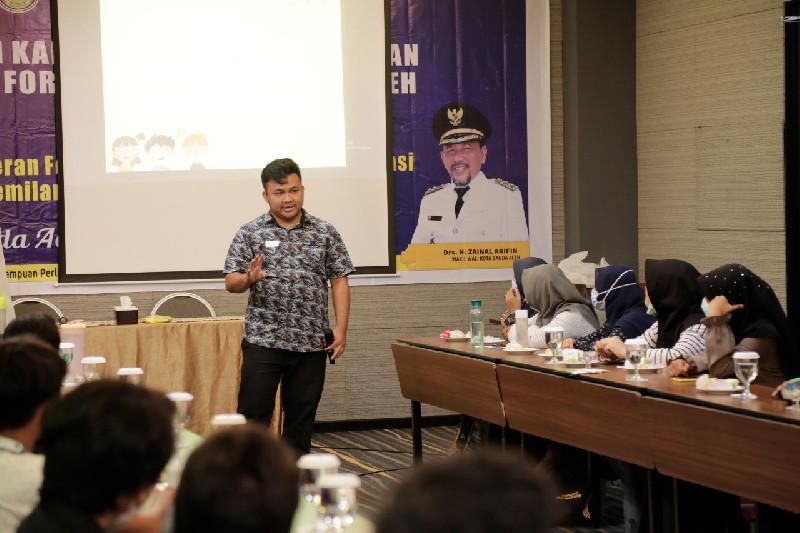 DP3AP2KB Targetkan Banda Aceh Jadi Kota Layak Anak