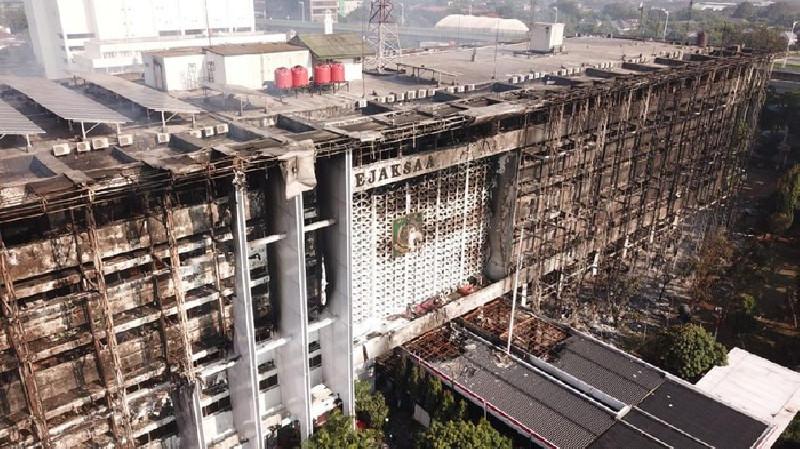 Kebakaran Gedung Kejaksaan Agung, Bareskrim Tetapkan 8 Tersangka