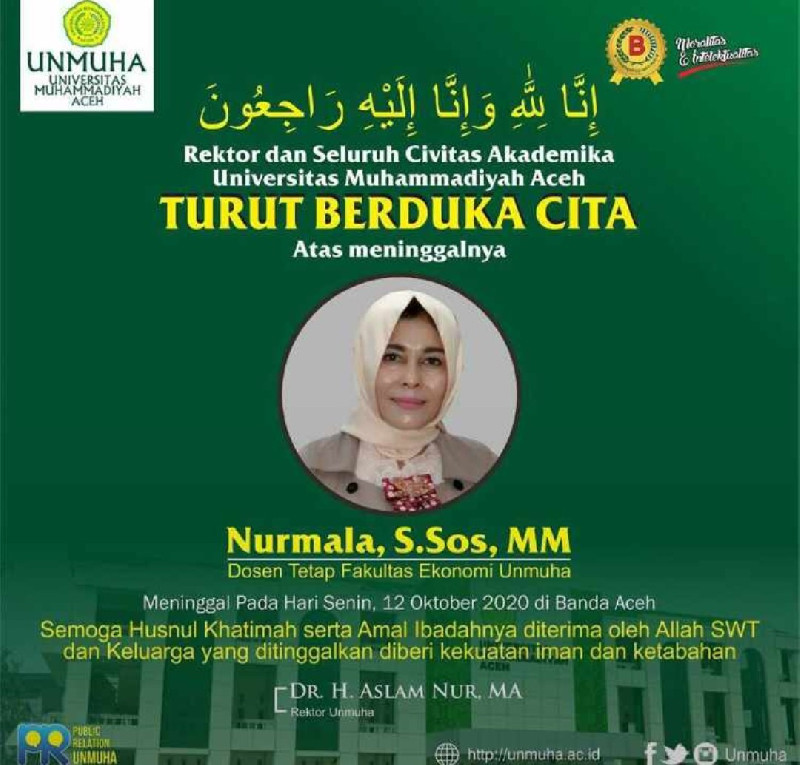 Bendahara Umum DPC Demokrat Kota Banda Aceh Meninggal Dunia