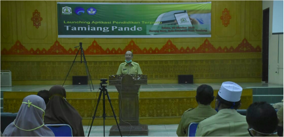 Bantu Pembelajaran Siswa Saat Pandemi Covid-19, Pemkab Atam Luncurkan Aplikasi 'Tamiang Pande'