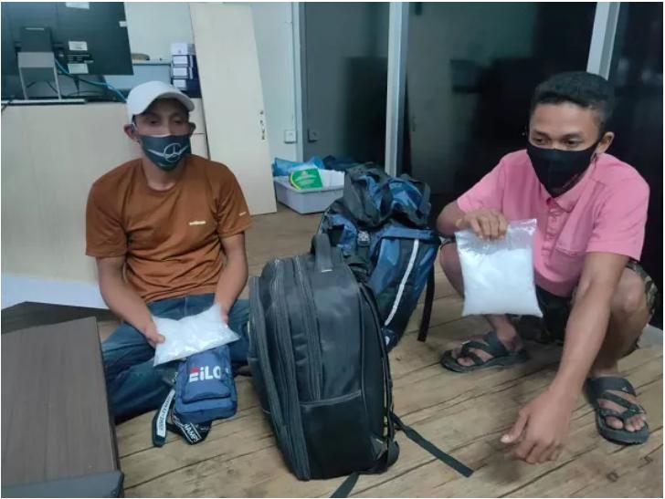 Tertangkap 2 Calon Penumpang di Bandara Kualanamu Bawa 1 Kg Sabu