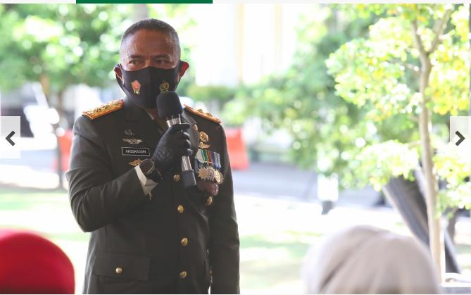 Pesan Bijak Pangdam IM di HUT  Ke-75 TNI