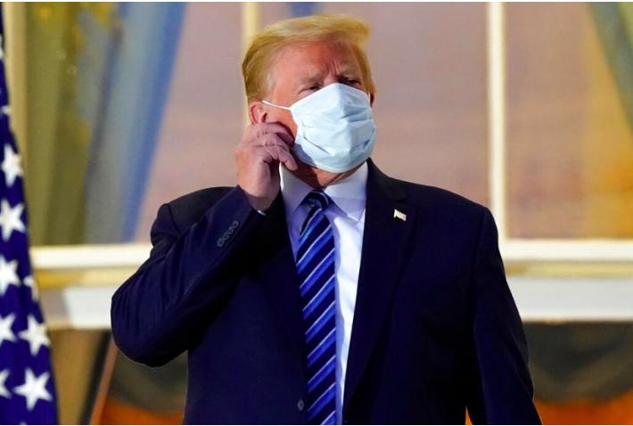 Donald Trump Nekat Kampanye Kembali Usia Pulih dari Covid-19