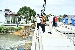 Tinjau Proyek Penyimpanan Air,  Wali Kota Banda Aceh: Persoalan Air Bersih Menjadi Prioritas