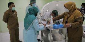 RSUDZA Simulasi CT Scan bagi Pasien Covid-19