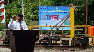 Program KOTAKU Bangun Instalasi Air Bersih di Aceh Besar