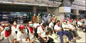51 nelayan Aceh Pasca Dipulangkan Dari Thailand Jalani Test Swab