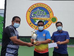 Aminullah Usman-Tio Lana Juara Tenis Antar Top Player 2020