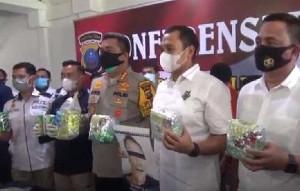 Bawa Sabu 1 Kilogram dari Aceh, Dua Pengedar Ditangkap di Kualanamu