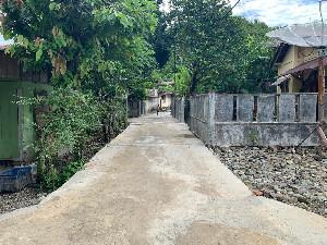 KPA Sorot Pembangunan Jalan Rabat Beton di Gampong Simpang Tiga