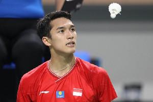 Jonatan Andalan Indonesia  di Olimpiade Tokyo Tahun Depan