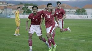 Timnas U-19 Menang 4-1 Atas Makedonia, Begini Respon Shin Tae Yong