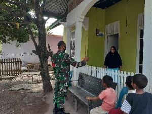 Disiplin 3M, Serda Supriadi Sosialisasi Prokes Door to Door