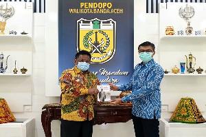 Walikota Banda Aceh Bangun Kemitraan Bersama OJK Menunjang Kemajuan Daerah