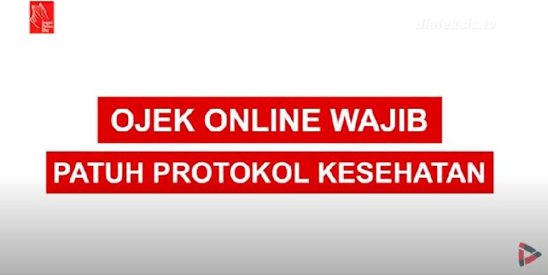 Aturan Ojek Online Patuhi Protokol Kesehatan