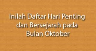 Hari Bersejarah Dunia di Tanggal 24 Oktober
