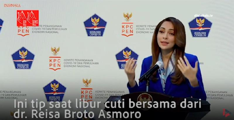 Tips Dari dr. Reisa Broto Asmoro Saat Libur Cuti Bersama