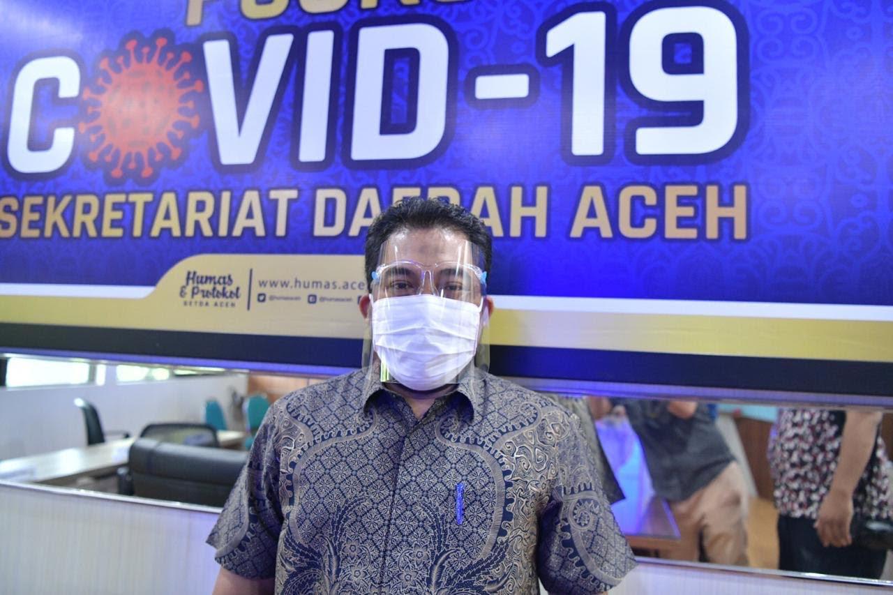 Pemerintah Aceh  Terus Galakkan Prokes Cegah Covid-19