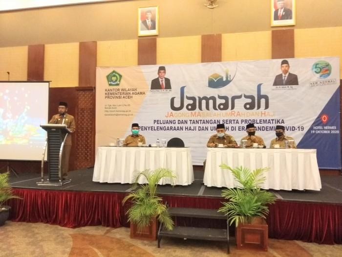 Kakanwil Buka Jamarah, Lintas Instansi Ikut Sosialisasi Haji dan Umrah