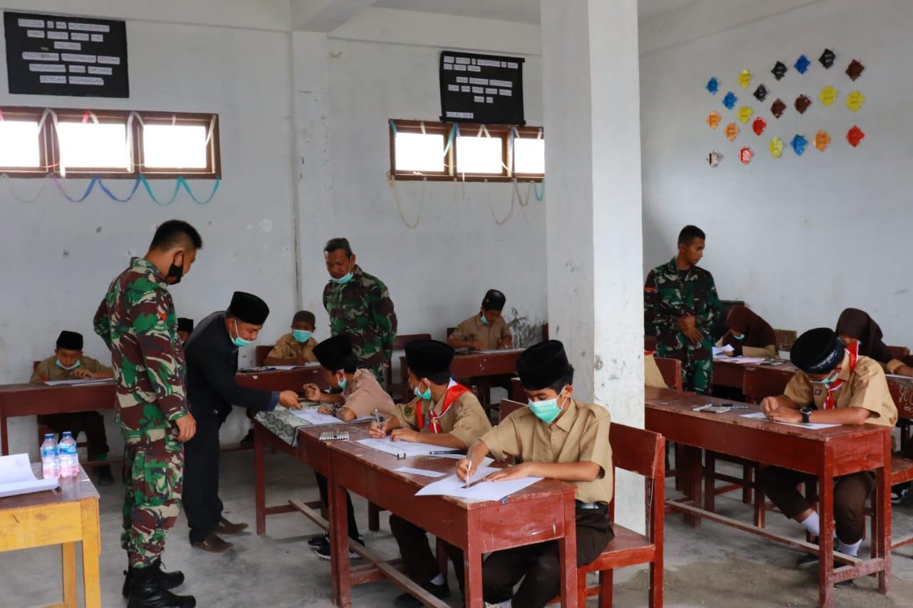 Kodim 0106 Aceh Tengah Selenggarakan lomba Kaligrafi Tingkat SLTP