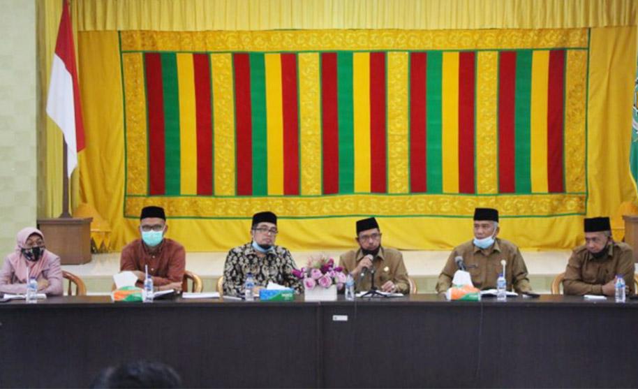 Silaturrahmi ke Kemenag Aceh, DPR Aceh Bahas Pendidikan Keagamaan