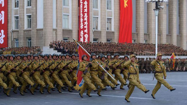 Korea Utara Pamer Senjata Terbaru dan Canggih