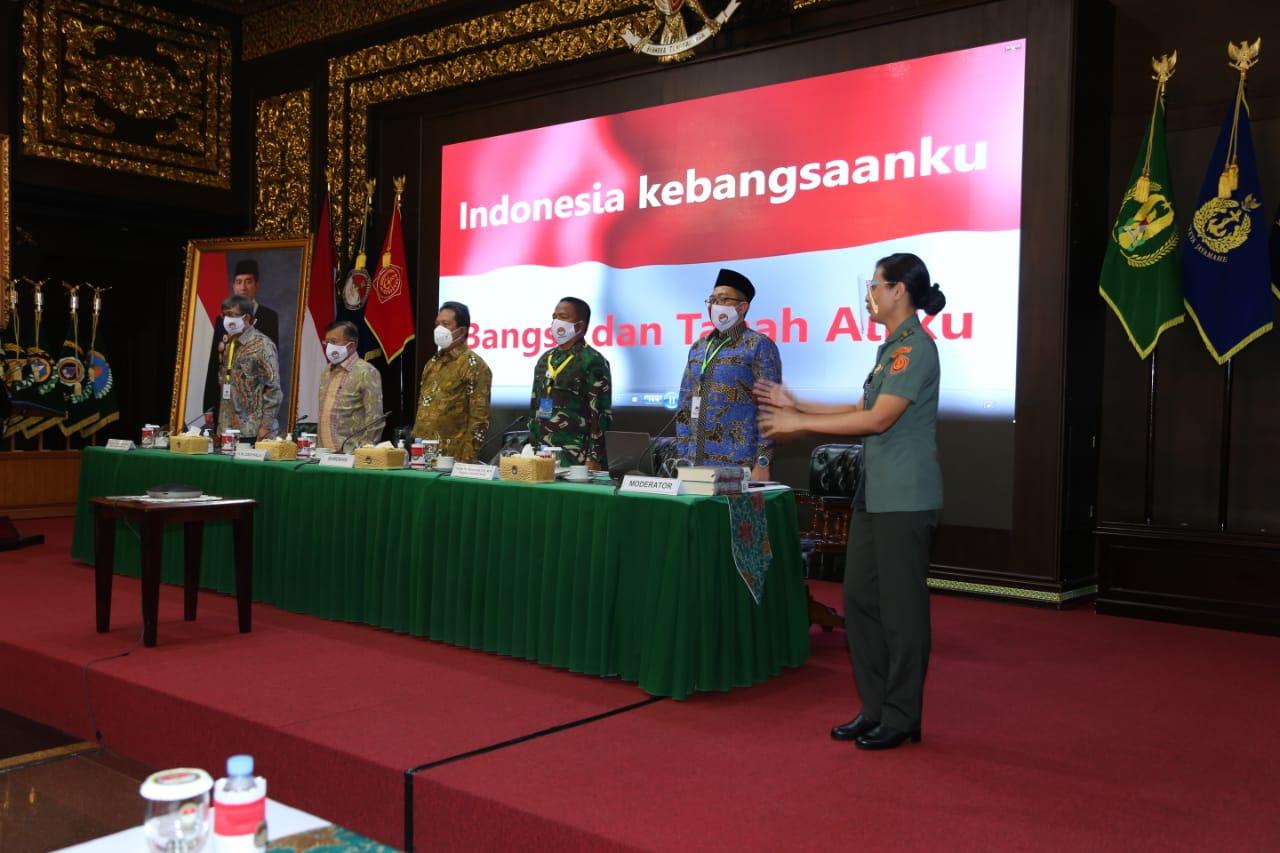Pangdam IM Ikuti FGD Lingstra Gathering di  Kemhan RI