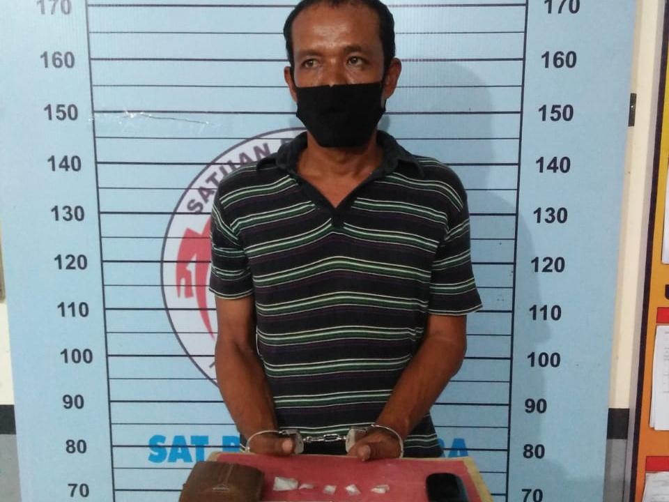 Agen Sabu yang Ditangkap di Kecamatan Nibong Sudah Lama Jadi Target Operasi Polisi