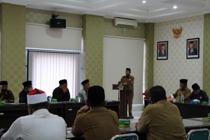 Kemenag Aceh Gelar Pembinaan Nazir Wakaf