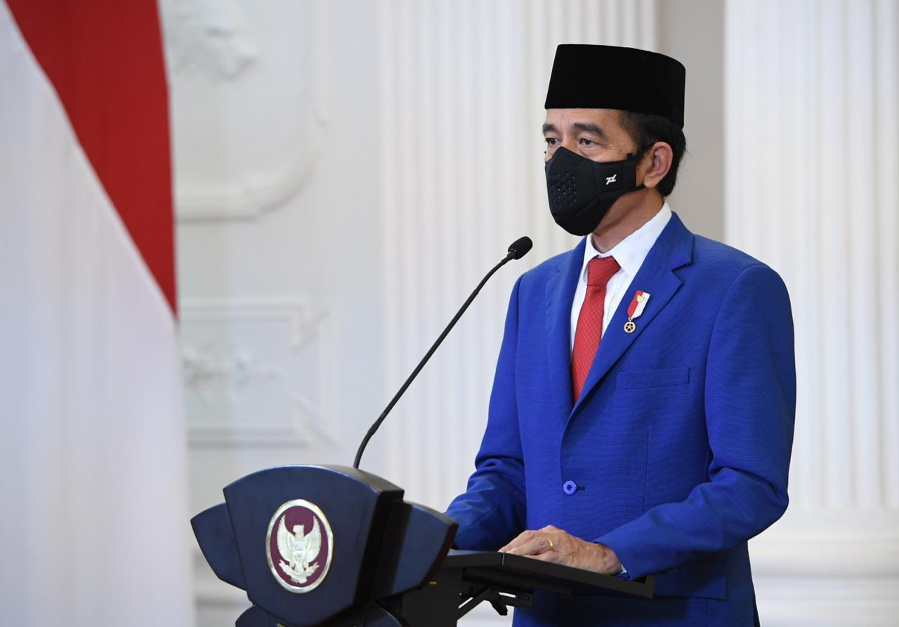 Presiden Jokowi Minta TNI Tingkatkan Kemampuan dan Bersikap Profesional