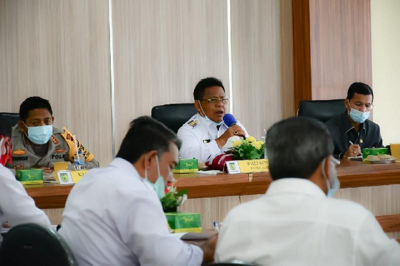 Antisipasi Lonjakan Covid-19 Saat Libur Panjang, Forkopimda Banda Aceh Gelar Rapat