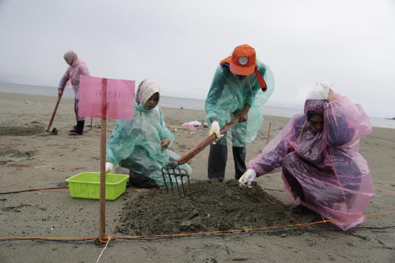 DLHK3 Banda Aceh Lakukan Survei Pemantauan Sampah Laut