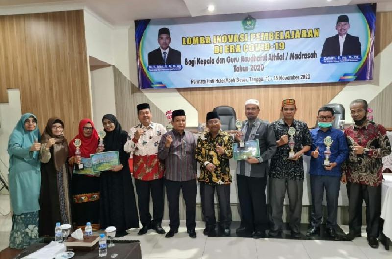 Kemenag Aceh Umumkan Juara Lomba Inovasi Pembelajaran di Masa Pandemi